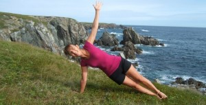 Yoga View - Trikonasana