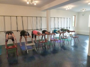 yogaview chairs and ropes